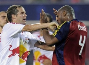 Olave 300x220 Red Bulls Olave Struggles As Timbers Salvage 3 3 Draw