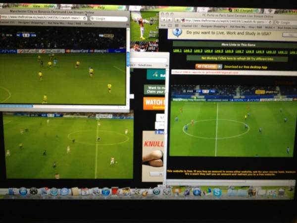 alejandro bedoya champions league 600x450 What Hope Is There To End Pirated Soccer Streams When Even Soccer Players Are Watching Them?