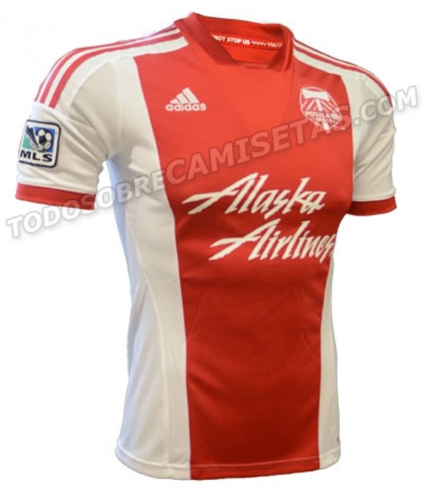 portland away shirt 600x693 Portland Timbers Home and Away Shirts for 2013 Season Leaked [PHOTOS]