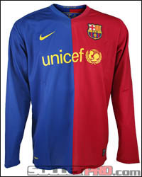 286785 655 nike barcelona ls home1 Product Review  2008/09 Barcelona Jersey