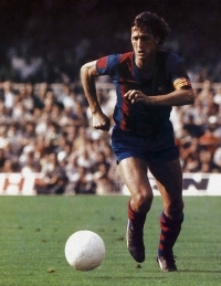 Former Barca star and coach Johan Cruyff (Photobucket)