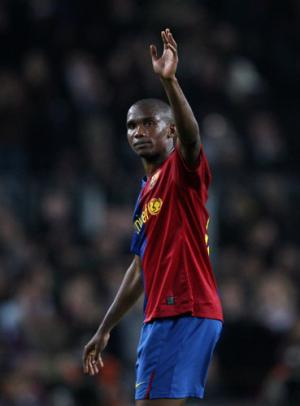 Despite Eto's years of service, he is on his way out of Barcelona