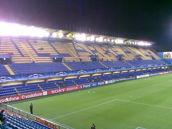 If Villarreal continues their poor run of form, El Madrigal will look similar to this on match nights.
