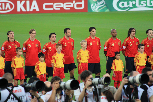 Spanish National Team Euro 2008 Vicente del Bosque Announces Spains Provisional 30 Man Squad For FIFA World Cup 2010 Part One