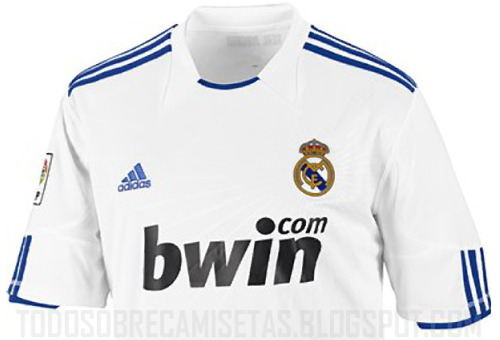 release date: e24ff c0007 Real Madrid Home Shirt for 2010-11 Season: Leaked Photo ...