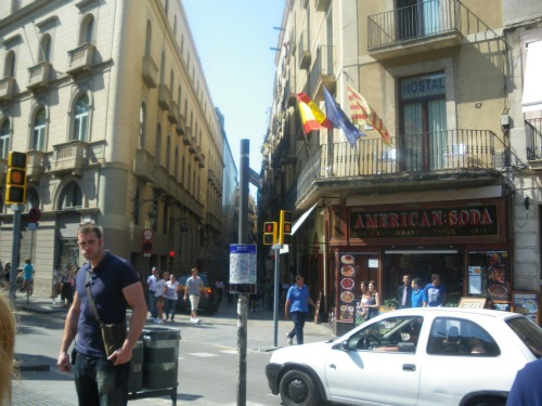 barcelona streets1 Spanish Super Cup Adventures With ESPN Deportes: Photos