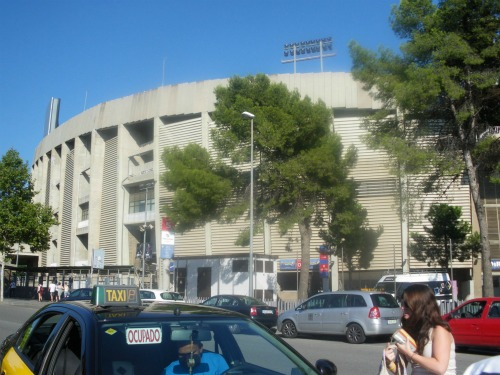 camp nou daytime Spanish Super Cup Adventures With ESPN Deportes: Photos