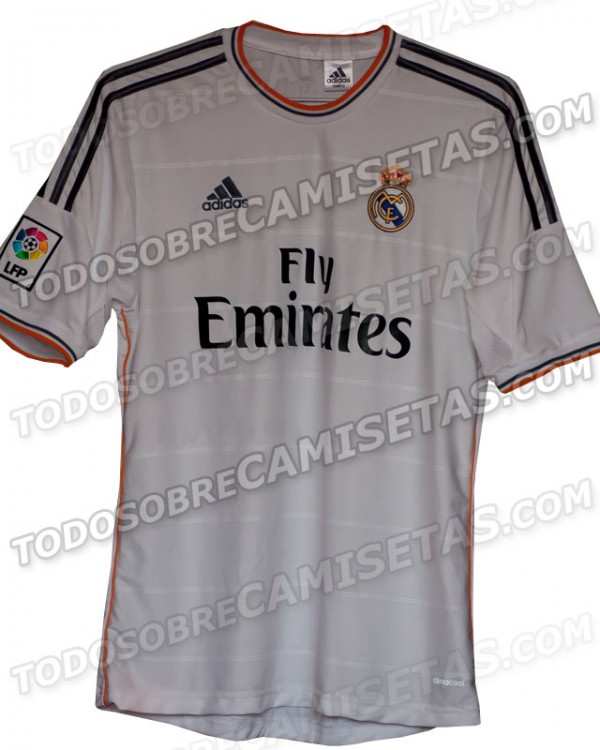 real madrid home 600x750 Is This Real Madrids Home Shirt for the 2013 14 Season? [PHOTO]