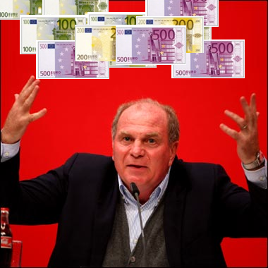 ulimoney Nationalizing the Bundesliga?  Hoeness suggests a TV Tax