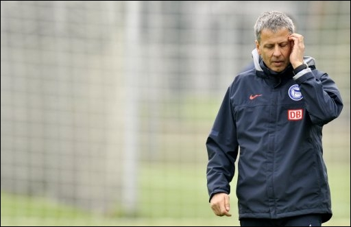 Further Steps Back – Hertha BSC Sacked Coach Lucien Favre