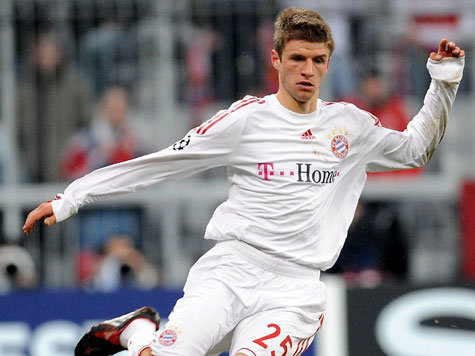 Thomas Müller, Bayern Munich's Rising-Star