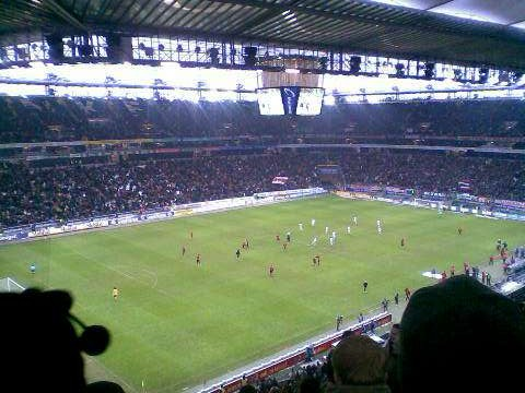At the stadium – Eintracht Frankfurt vs. Cologne FC 1:2