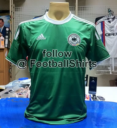 germany away shirt 1 Germany Home and Away Shirts for Euro 2012: Leaked Photos