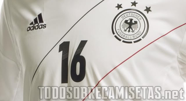germany home 1 Germany Home and Away Shirts for Euro 2012: Leaked Photos