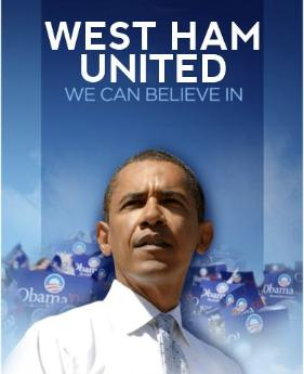 west ham united barack obama Barack Obama is a West Ham Fan