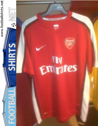 ca4437a46 New Arsenal 08 09 Shirts Revealed - World Soccer Talk