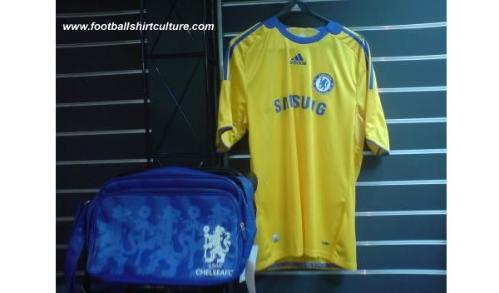 chelsea away1 New 08/09 Chelsea Away and Third Shirts Revealed