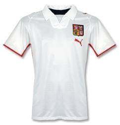 czechrepublic away Euro 2008 Shirts