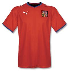 czechrepublic home Euro 2008 Shirts