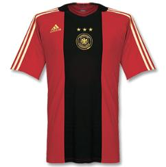 germany away Euro 2008 Shirts