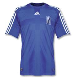 greece away Euro 2008 Shirts