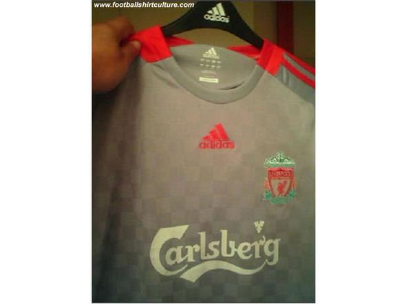 liverpool away New 08/09 Liverpool Shirts: Home, Away and Third