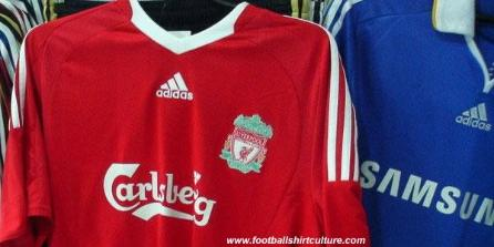 liverpool home1 New 08/09 Liverpool Shirts: Home, Away and Third