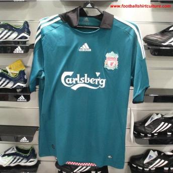 best service d03ff e5415 New 08/09 Liverpool Shirts: Home, Away and Third - World ...