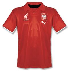 poland away Euro 2008 Shirts