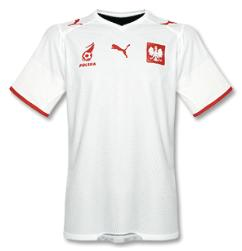 poland home Euro 2008 Shirts