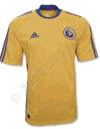 romania home Euro 2008 Shirts