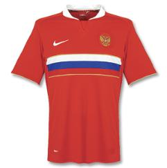 russia away Euro 2008 Shirts