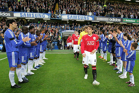 guardofhonour1 Chelsea v Man United: Live Match Reaction