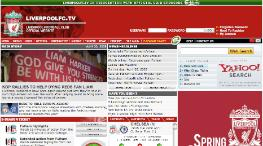 liverpool website Top 10 Most Visited British Football Websites
