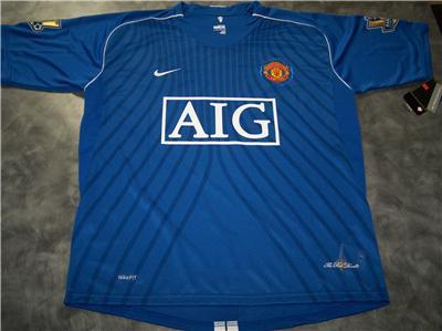 huge selection of e67c9 5c756 08/09 Man United Third Shirt - World Soccer Talk