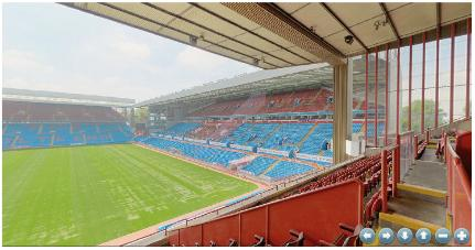 Aston Villa Stadium Virtual Tour