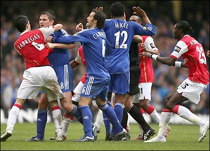 brawl chelsea v arsenal The 6+5 Rule Would Radically Alter Football, But Not in a Good Way