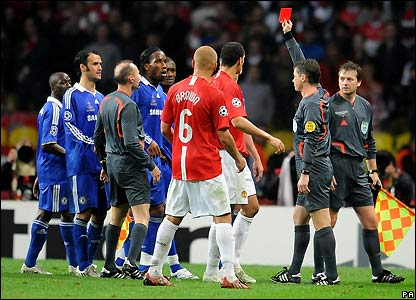 drogba sent off Champions League Final Reveals Ugly Side Of English Football