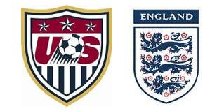 usa england England and United States: The Dream World Cup Draw