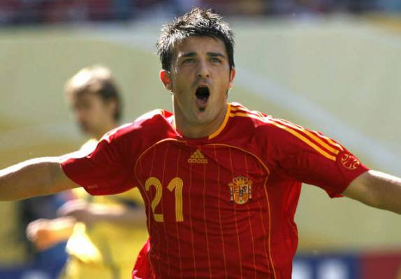 david villa The Pleasure Of Watching Spain v Sweden In An Irish Pub
