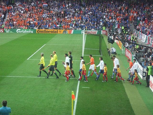 holland italy Euro 2008: How Seeing A Football Match On TV Can Be Better Than Seeing It In Person