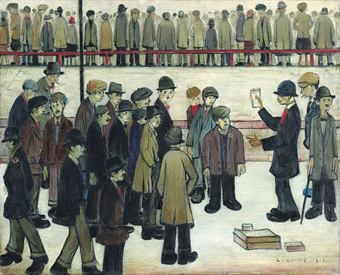 man city v sheffield united Art And Football: A L.S. Lowry Masterpiece Goes On Auction