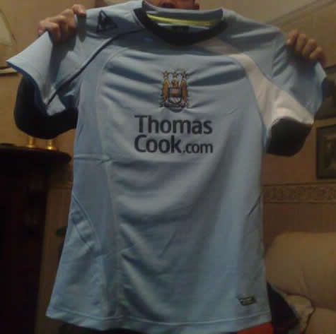 new manchester city home shirt New 08/09 Manchester City Home Shirt Revealed