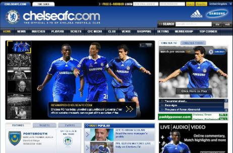 chelsea website Chelsea Launches Redesigned Website