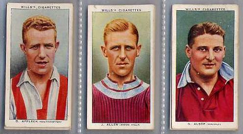 football tobacco cards Rare Football Memorabilia Found On eBay