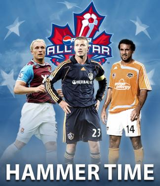 mls all star game West Ham United v MLS All Stars On ESPN Tonight