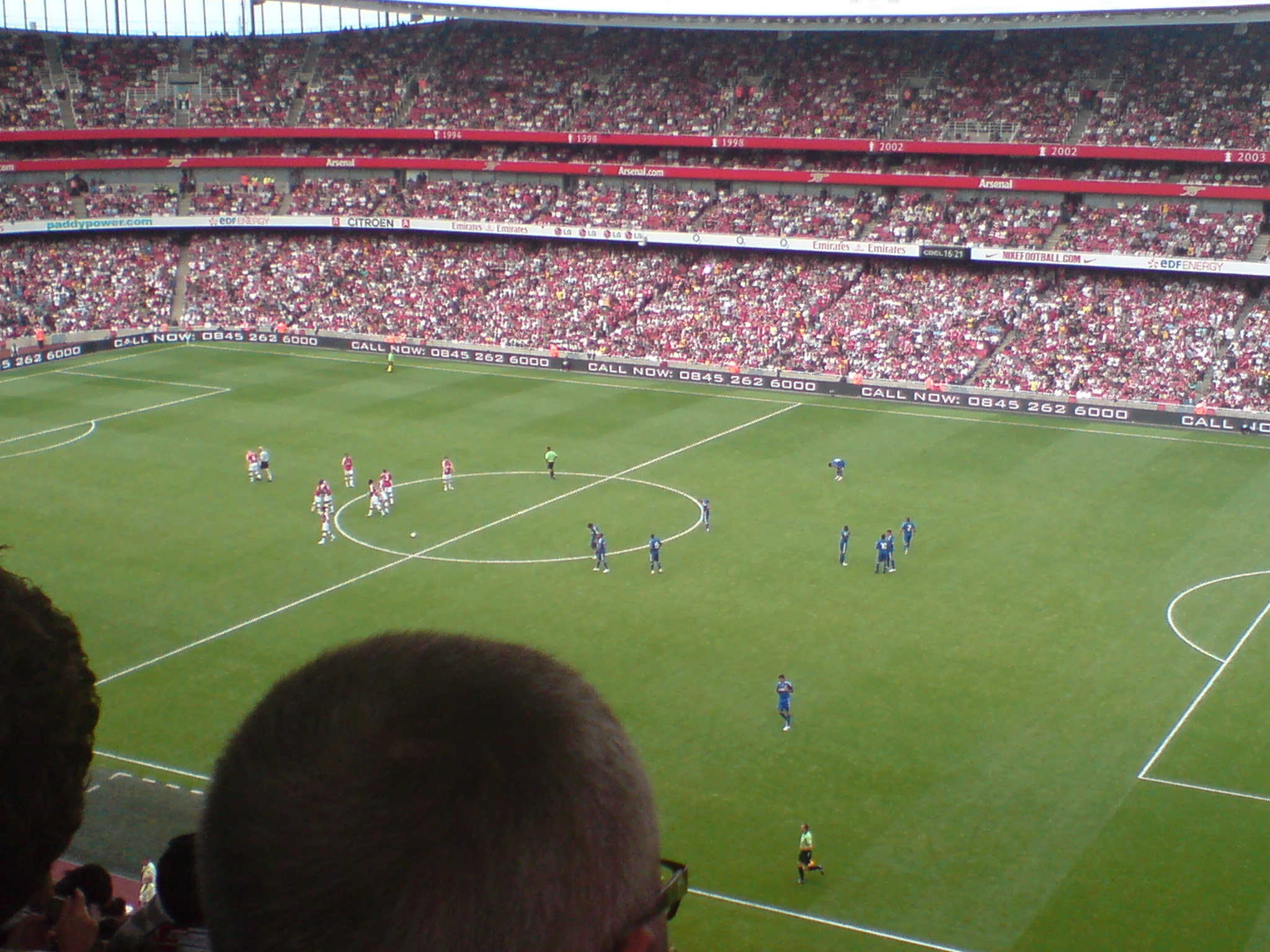 dsc00178 Arsenal Outclass Real Madrid in Emirates Cup