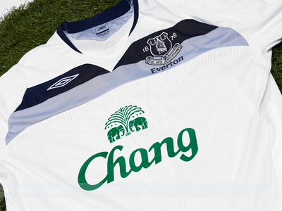 new everton away shirt Everton Launches New Everton Away Shirt For 2008/2009 Season