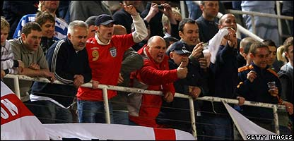 england fans andorra England Are In A No Win Situation Against Andorra