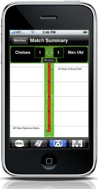 epl live phone app 2 Premier League Comes To The iPhone: EPL Live! App Review